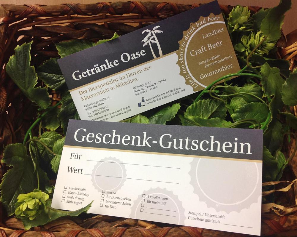 Getränkeoase | Der Getränkemarkt in München/Schwabing